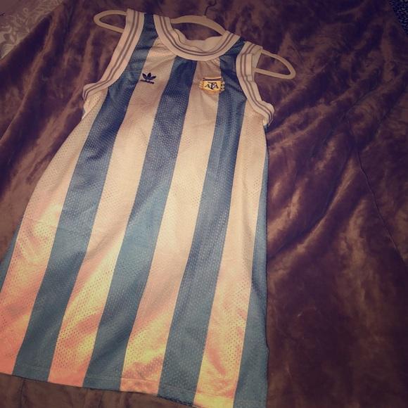 Adidas Other Original Argentina World Cup Tank Dress Poshmark